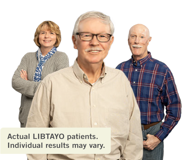 Patients with advanced CSCC taking LIBTAYO® (cemiplimab-rwlc)