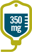 LIBTAYO® (cemiplimab-rwlc) is given as an IV infusion in 350-mg doses
