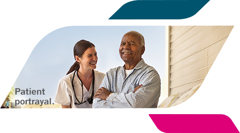 Actual LIBTAYO® (cemiplimab-rwlc) patient and caregiver